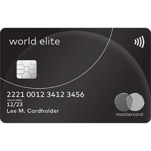 MasterCard World Elite Card