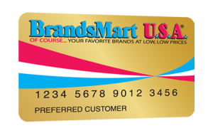 Brandsmart Credit Card Application